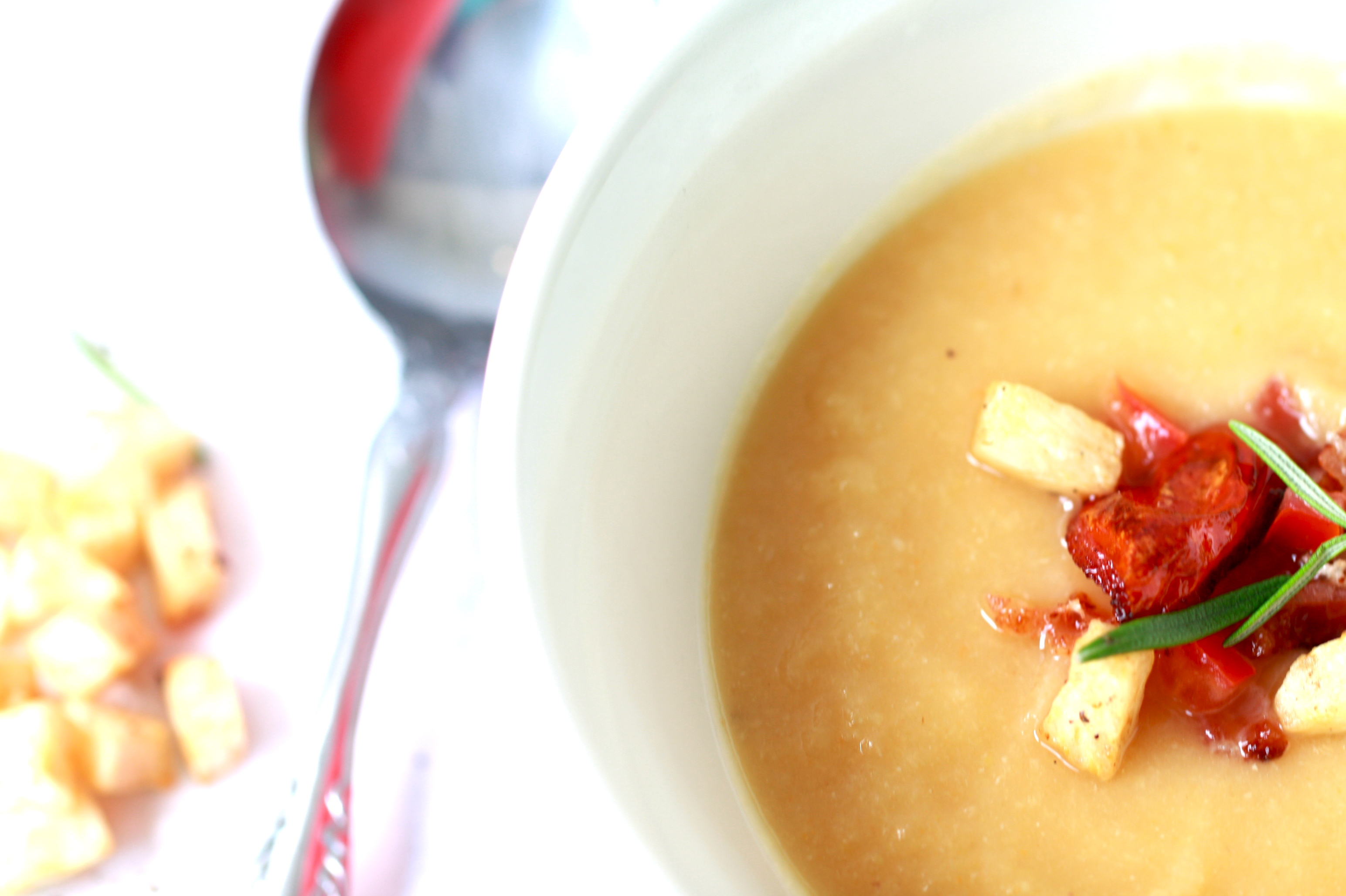 Celeriac Soup and Chocolate Doughnuts | aubergine catering & events
